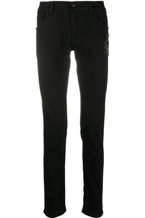 Dolce & Gabbana Skinny-Jeans mit Logo