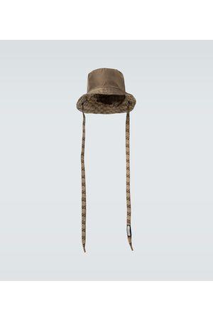 Gucci Wendbarer Fischerhut aus Canvas