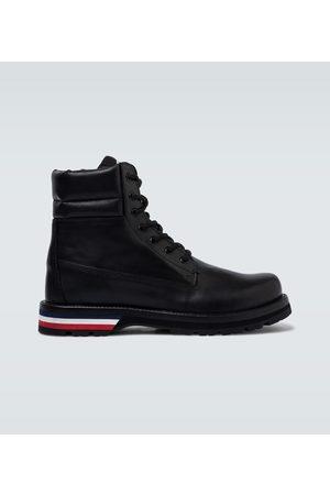 Moncler Ankle Boots Vancouver aus Leder