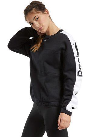 """Reebok Sweatshirt """"Workout Ready"""", Rundhals, locker, Logo, für Damen, , S"""