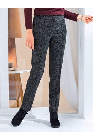 Avena Damen Jersey-Hose gemustert