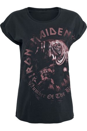 Iron Maiden Number Of The Beast T-Shirt /used look