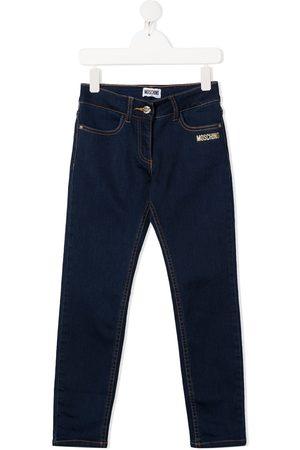 Moschino Kids Jeans mit Teddy-Print