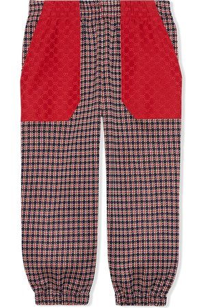 Gucci Hose mit Hahnentrittmuster