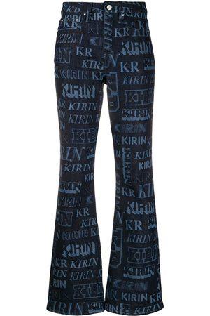 Kirin Jeans mit Monogramm-Print