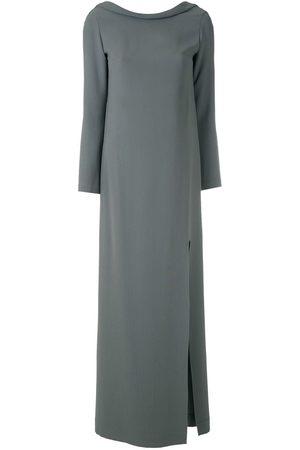 Gloria Coelho Kleid mit seitlichem Schlitz