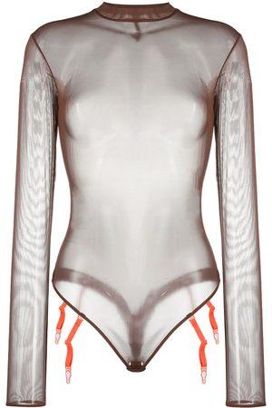 MAISON CLOSE Body in Netzoptik