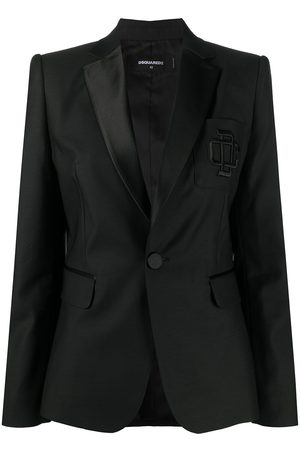 Dsquared2 Blazer mit Logo-Stickerei