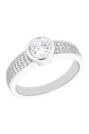 s.Oliver Ring Damen-Ring aus 925 Sterling mit Zirkoniasteinen