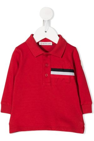 Moncler Poloshirt mit Streifendetail