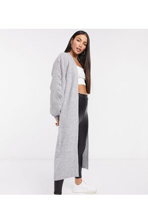 ASOS ASOS DESIGN Tall – Maxi-Strickjacke