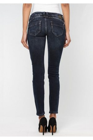 Gang Skinny-fit-Jeans »Nena« in authenischer Used-Waschung