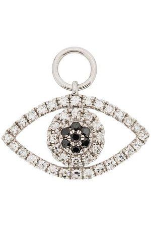 Roxanne First 14kt Weiß -Augenanhänger mit Diamanten