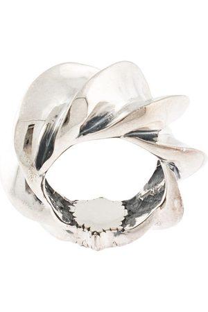 Natural Instinct Herren Ringe - Strukturierter Oversized-Ring