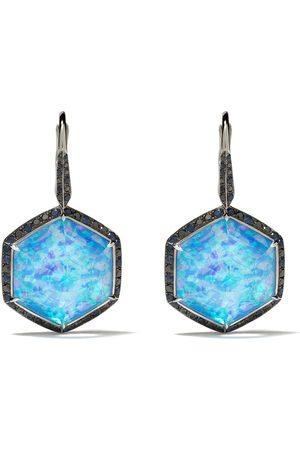 STEPHEN WEBSTER Damen Ohrringe - 18kt Weißgoldohrringe mit Diamanten