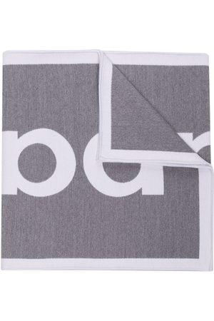 Paco rabanne Schal mit Logo-Stickerei