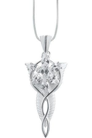 Herr der Ringe Damen Halsketten - Arwens Abendstern Halskette silberfarben