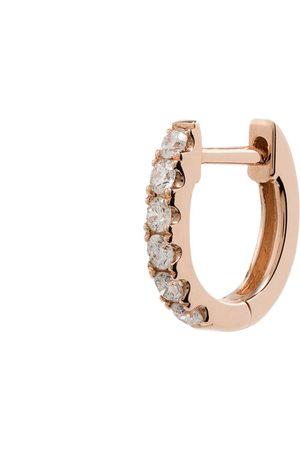 Roxanne First 14kt Rotgoldcreole mit Diamanten