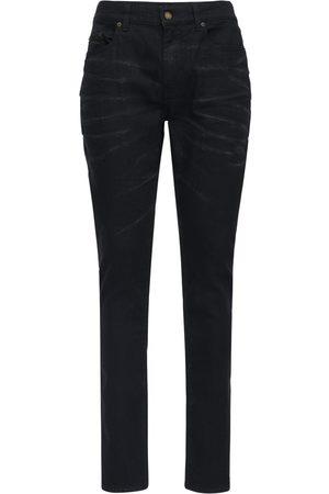 Saint Laurent 16cm Enge Jeans Aus Stretch-baumwolldenim