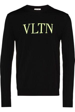 VALENTINO Strickpullover mit Logo