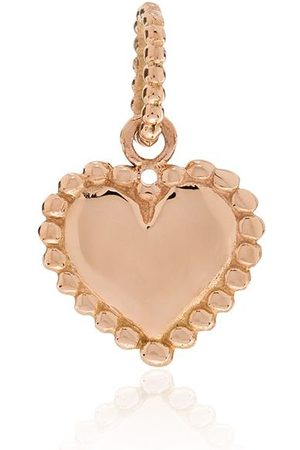 GIGI CLOZEAU 18kt 'Lucky Heart' Rotgoldanhänger mit Diamanten