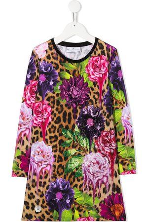 Philipp Plein Kleid mit Leoparden-Print