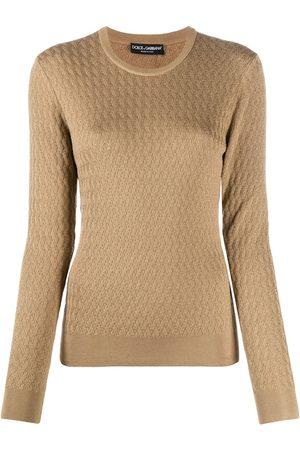 Dolce & Gabbana Pullover mit Zopfmuster