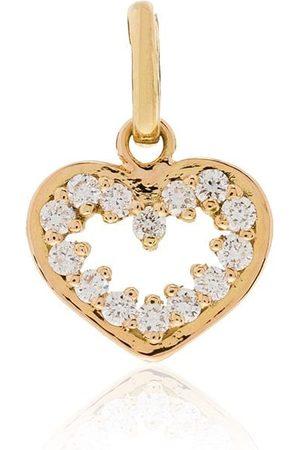 GIGI CLOZEAU 18kt Gelbgoldanhänger mit Diamanten