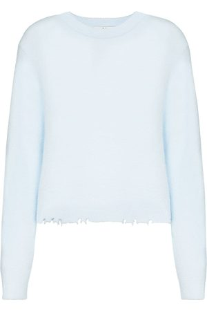 tibi Pullover in Distressed-Optik
