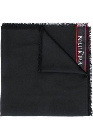 Alexander McQueen Damen Schals - Jacquard-Schal mit Logo