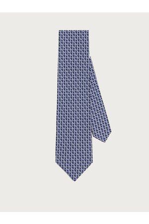 Salvatore Ferragamo Herren Krawatten - Herren Gancini print silk tie