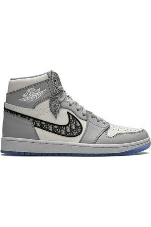 Jordan X Dior 'Air 1 High' Sneakers