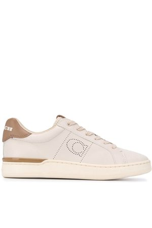 Coach Low-top perforated sneakers