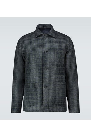 OFFICINE GENERALE Wattierte Jacke aus Wolle