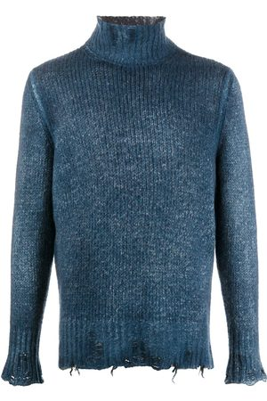 AVANT TOI Herren Strickpullover - Pullover in Distressed-Optik