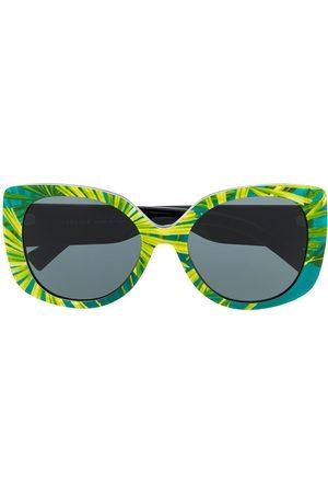 VERSACE Damen Sonnenbrillen - Oversized-Sonnenbrille
