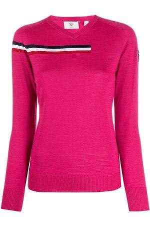 Rossignol Damen Strickpullover - Pullover mit Streifen