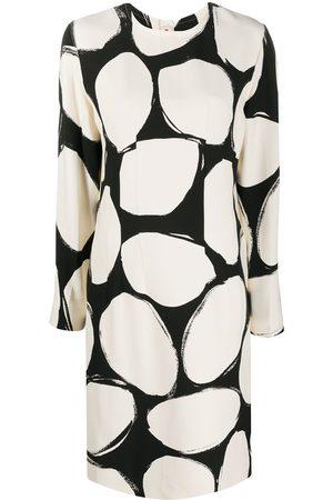 Marni Kleid mit Kreis-Print