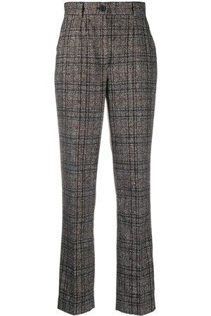 Dolce & Gabbana Klassische Tweed-Hose