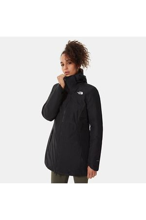 The North Face Damen Isolierter Hikesteller Parka Tnf Black/tnf Black Größe L Damen