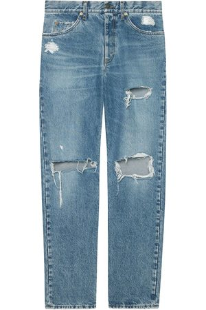 Gucci Jeans im Distressed-Look