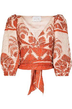 JOHANNA ORTIZ Astral' Bluse mit Blumen-Print