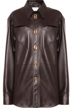 Bottega Veneta Hemd aus Leder