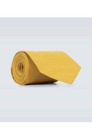 Prada Krawatte aus Baumwollpopeline