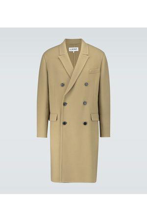 Loewe Zweireihiger Mantel aus Wolle