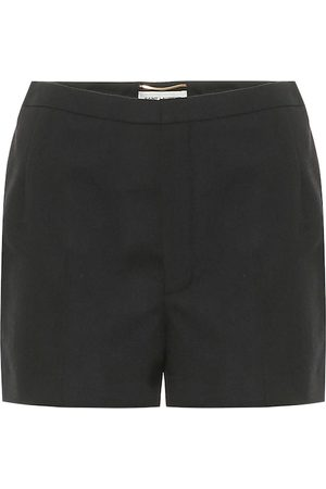 Saint Laurent Shorts aus Wolle