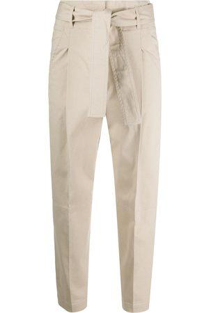 PESERICO SIGN Cropped-Hose mit Schleifenverschluss