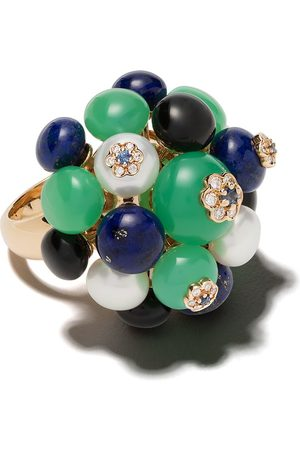 David Morris 18kt 'Forest Berry Bouquet' Rotgoldring