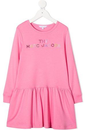 The Marc Jacobs Kleid mit Logo-Verzierung