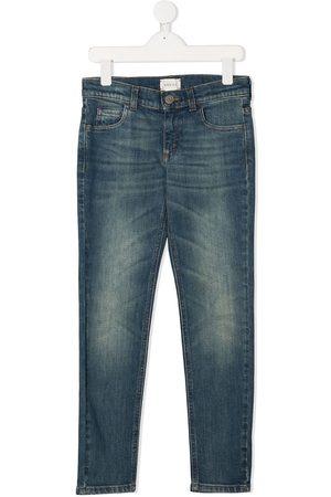 Gucci Ausgeblichene Skinny-Jeans